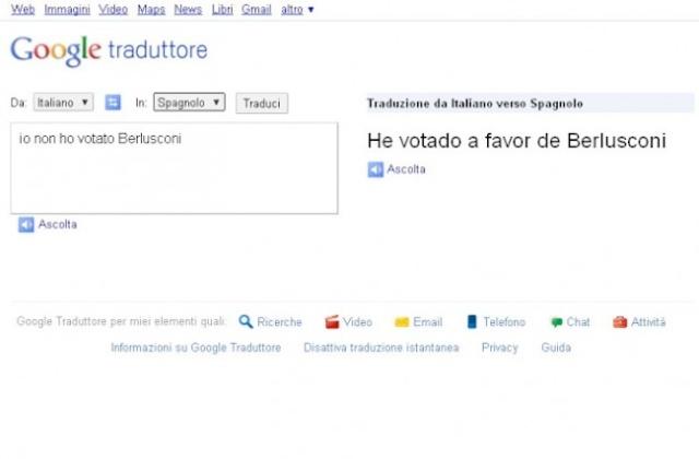 Traductor google en español
